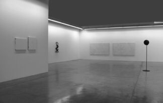 Rui Chafes and Ralf Ziervogel- Black Rainbow, installation view