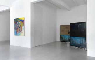 The Lazy Sunbathers - curated by Lucas Hirsch, installation view