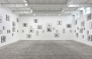 Tacita Dean, Julie Mehretu, installation view