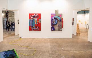Steve Turner at ZⓢONAMACO 2017, installation view