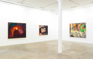 Incoming, installation view