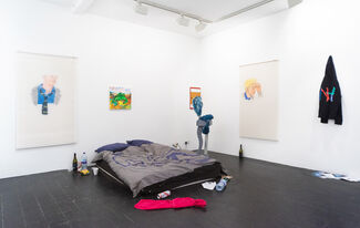 Neil Haas: Kids use Laptops, installation view