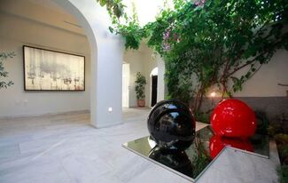 Michalis Katzourakis: Works in Two and Three Dimensions, installation view