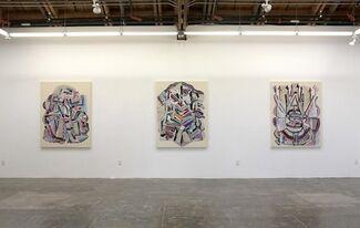 Feodor Voronov: Rainbow of Chaos, installation view