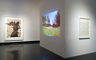 Sixfold Symmetry: Pattern in Art and Science, installation view