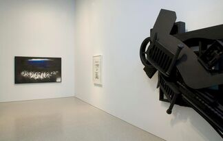 It's Never Just BLACK or WHITE, installation view