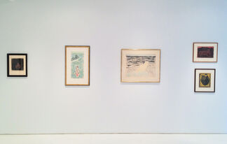 Milton Avery: A Concentration of Drawings and Prints, installation view