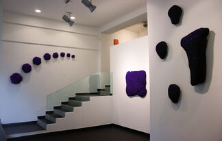 Group show between main and emerging artists., installation view