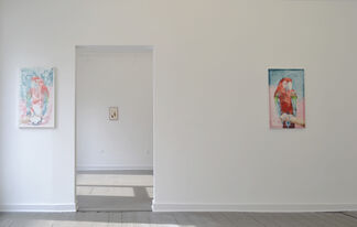 JAMES KRONE - Words Like Parrots, installation view