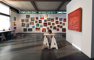 Some Women and a Triangle, installation view