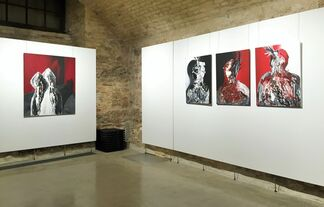 """""""Relations (un)fold"""", installation view"""
