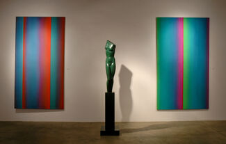 Color & Form: The work of Leon Berkowitz & Anita Huffington, installation view