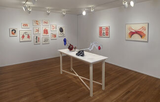 John Newman: Fit, installation view