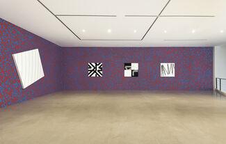 François Morellet, installation view