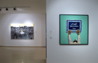 Jerusalem: 51 Years of Occupation, installation view