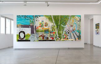 IN A HOUSE OF SHIFTING FORMS, installation view