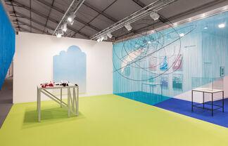 Esther Schipper at Frieze London 2017, installation view