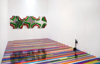 Jim Lambie, Zero Concerto, installation view