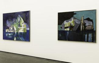 Håkon Bleken - New Paintings, installation view