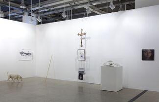 Dvir Gallery at Art Basel 2014, installation view