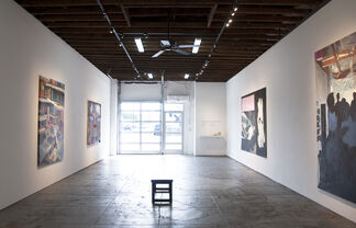 HERE NOW: Six Works by 6 LA Artists, installation view