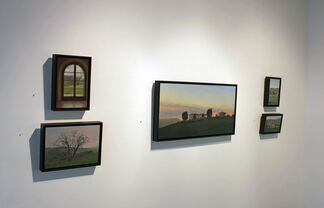Judy Nimtz & Kenny Harris: Terra di Sienna: Paintings from Southern Tuscany, installation view