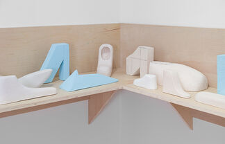 Richard McGuire: The Way There and Back, installation view