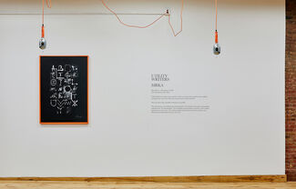 Utility Writers ON CANAL, installation view