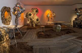 Misha Kahn's Midden Heap, installation view