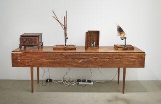 Kal Spelletich: Intention Machines 2015, installation view