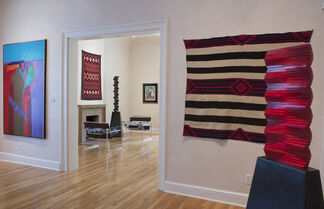 The Indigenous-Modernist Intersection: Contemporary Native American paintings and Prints, installation view