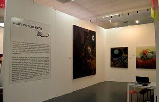 Q0DE at Art15 London, installation view