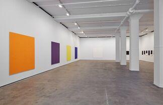 Callum Innes: With Curve, installation view