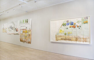 Tables and pills and things, installation view