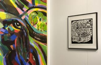 Ink Studio at The Armory Show 2014, installation view