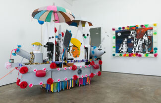 Steven Hull: Sheets Deprived of Wind, installation view