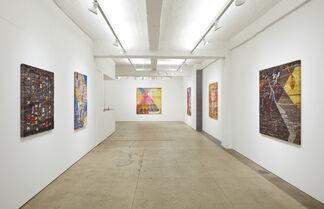 """Channing Hansen """"Self Portraits"""", installation view"""
