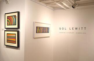 Sol Lewitt Exhibition 2014, installation view