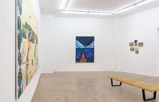 """Marie-Anita Gaube """"Featured works: Through the mirror"""", installation view"""