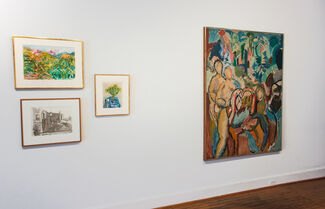 Nell Blaine, installation view
