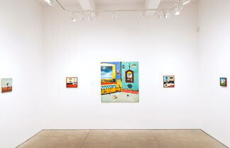 Robert Rasely: Houses and Birds, installation view