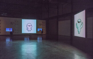 I feel we think bad, installation view