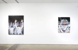Titus Kaphar: Asphalt and Chalk, installation view
