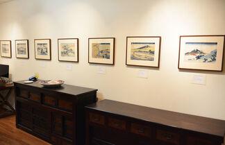 Hokusai: Great work, Small sizes, installation view