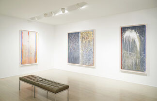 Pat Steir: Hand-Painted Monotypes, installation view
