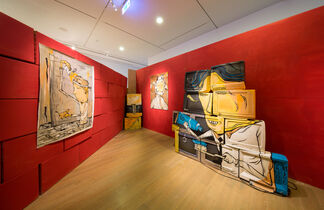 Bed Stories – Candy Bird Solo Exhibition, installation view