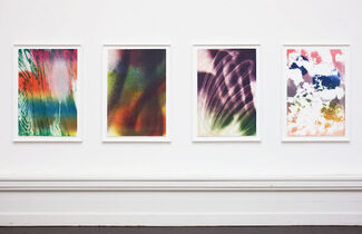 Katharina Grosse Lithographic works 2007 - 2011 at Edition Copenhagen, installation view