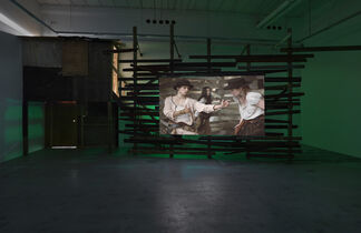 Joachim Koester   Every muscular contraction contains the history and meaning of its origin, installation view