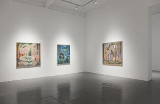 Charlie Roberts - No Ceilings, installation view
