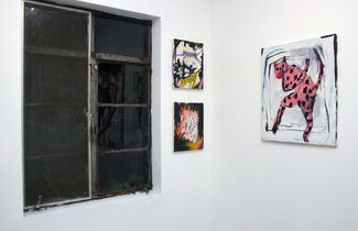ALWAYS NERVOUS // New Paintings & Drawings by Kyle Orlando, installation view